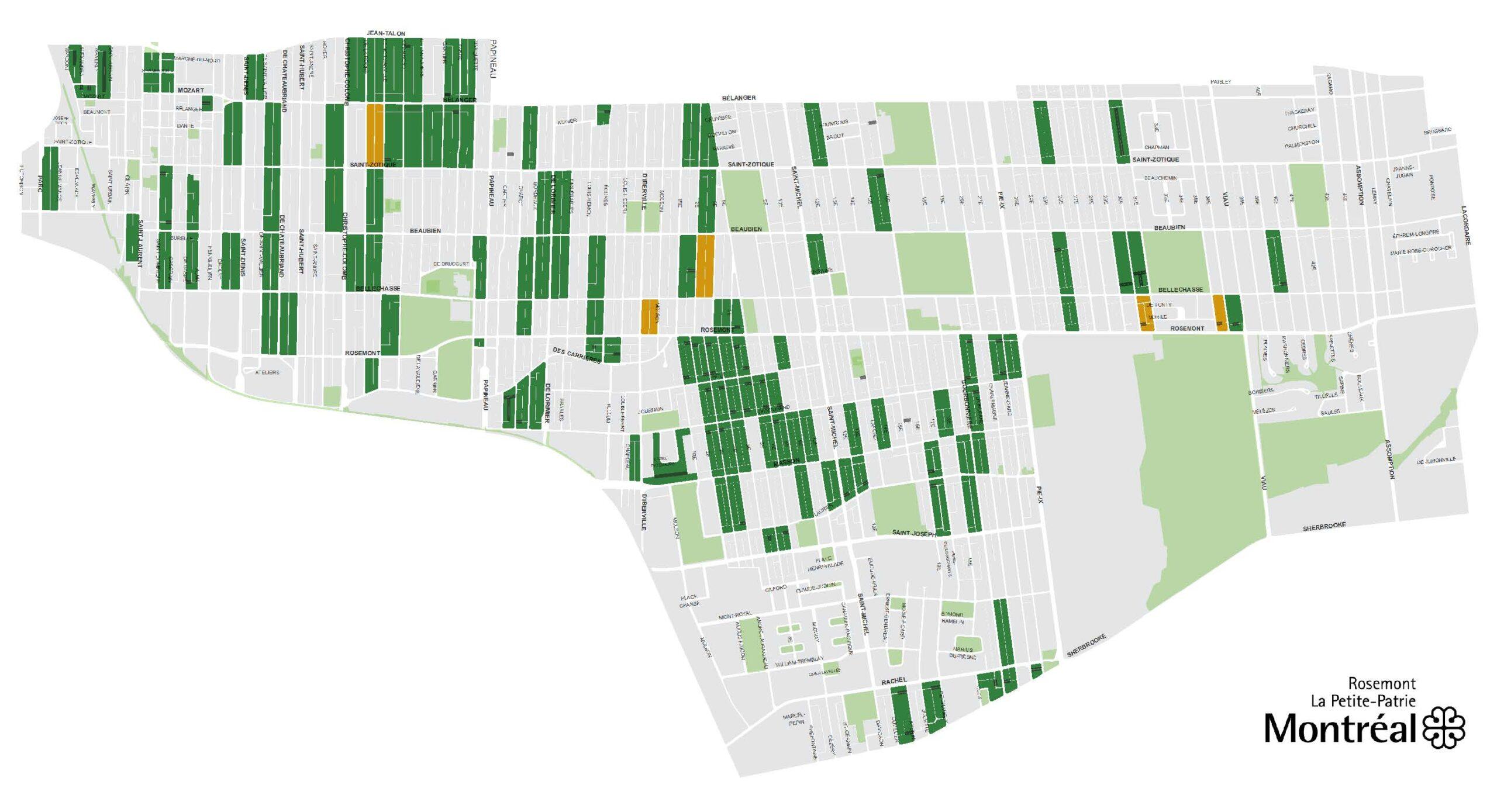 Les 128 ruelles vertes de Rosemont-La Petite-Patrie